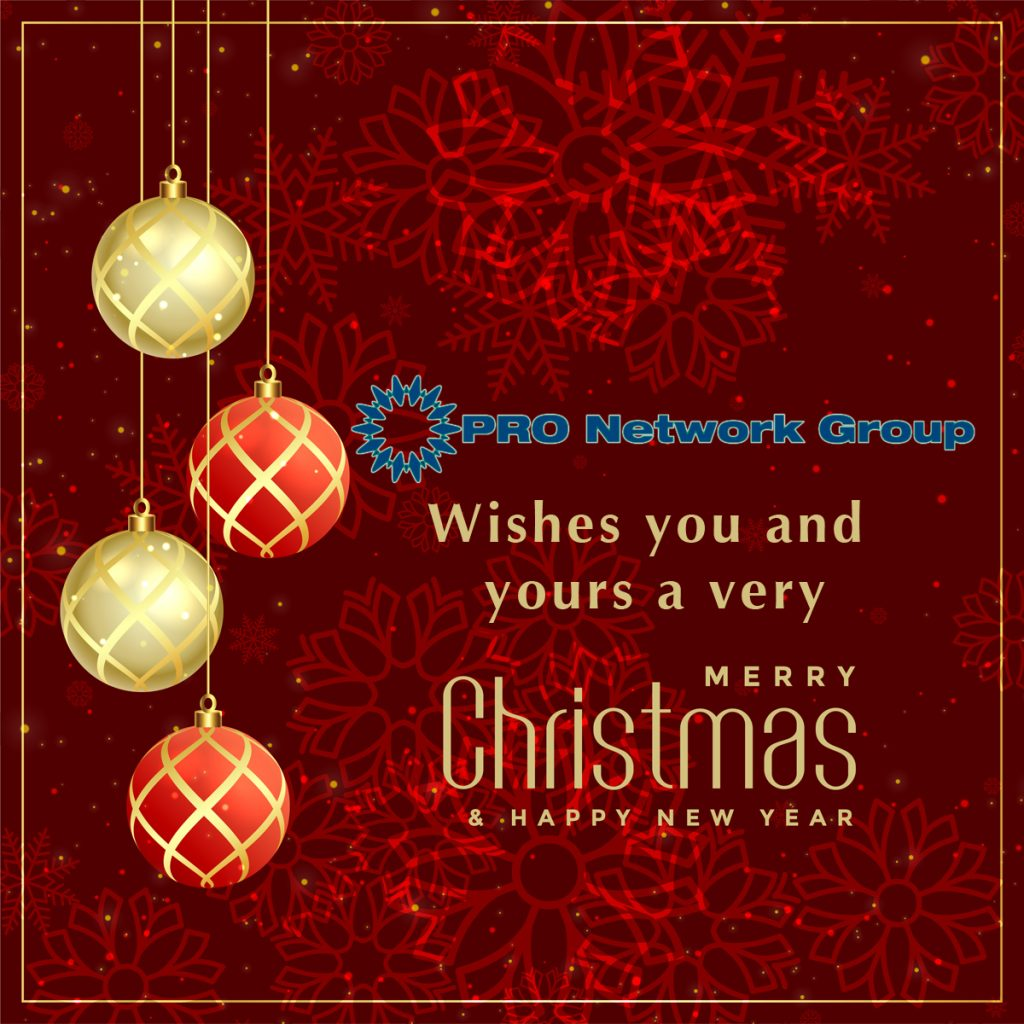Merry Christmas from PRO Network Group